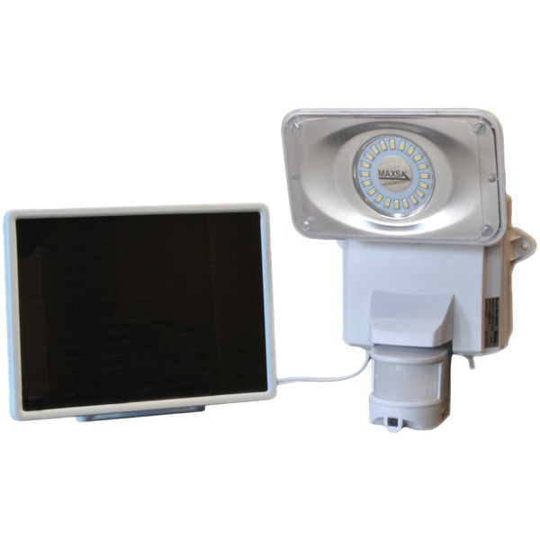 Maxsa Innovations Solar-powered Security Video Camera And Floodlight